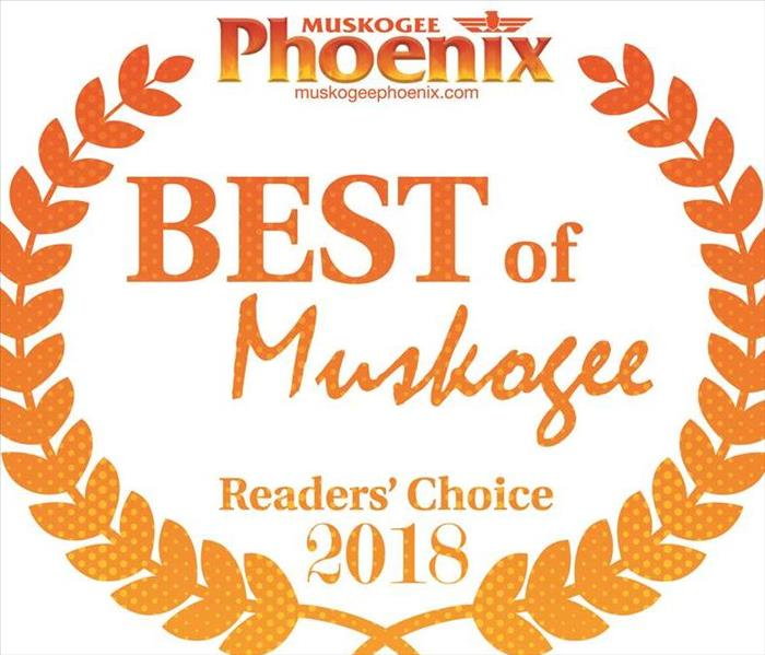 Muskogee Phoenix's Reader's Choice Award 2018