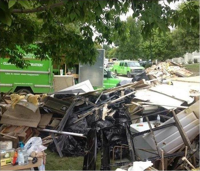 Storm Damage When Storms or Floods hit anywhere across the country, SERVPRO is ready!